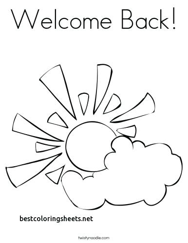 386x500 Best Coloring Pages Come Back School Coloring Pages E Back