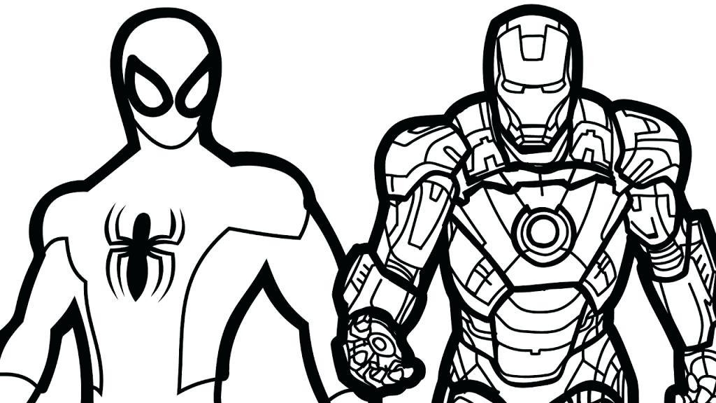 1024x576 Iron Man Coloring Page Iron Man Coloring Pages Free Printable Iron