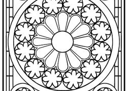 250x180 Grade Mandalas Coloring Pages Printables
