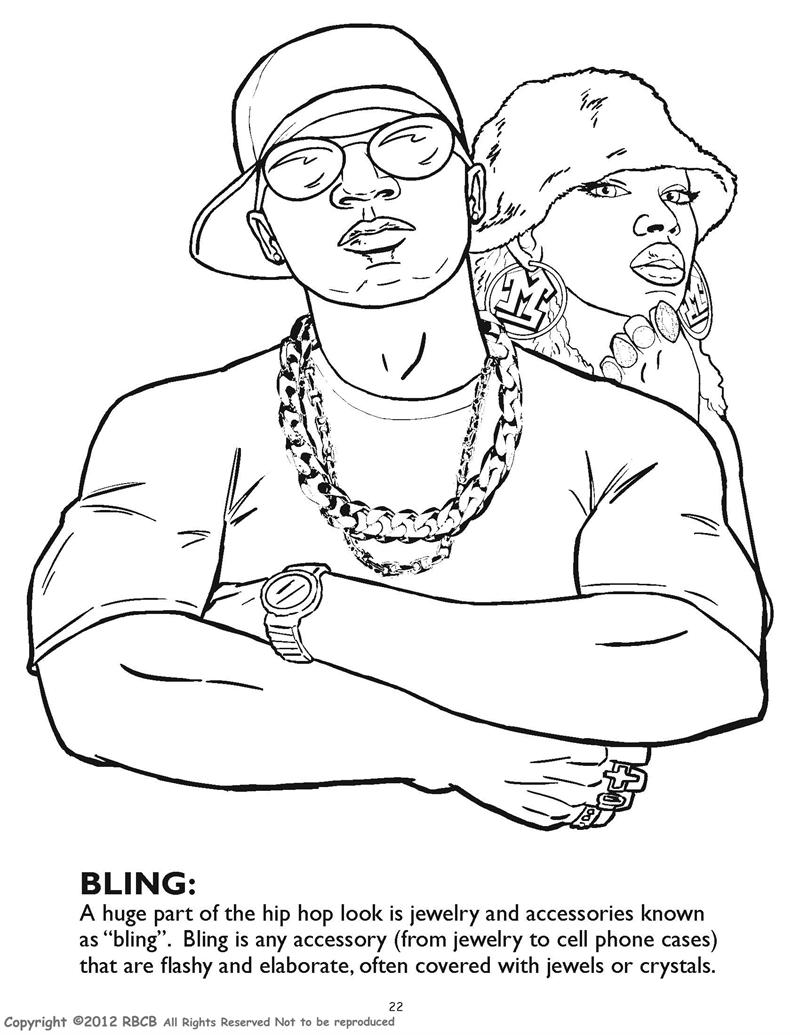 800x1035 Gangsta Coloring Pages
