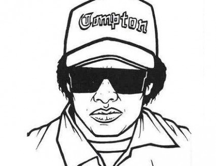 426x328 Gangsta Rap Coloring Pages In Living Color Just