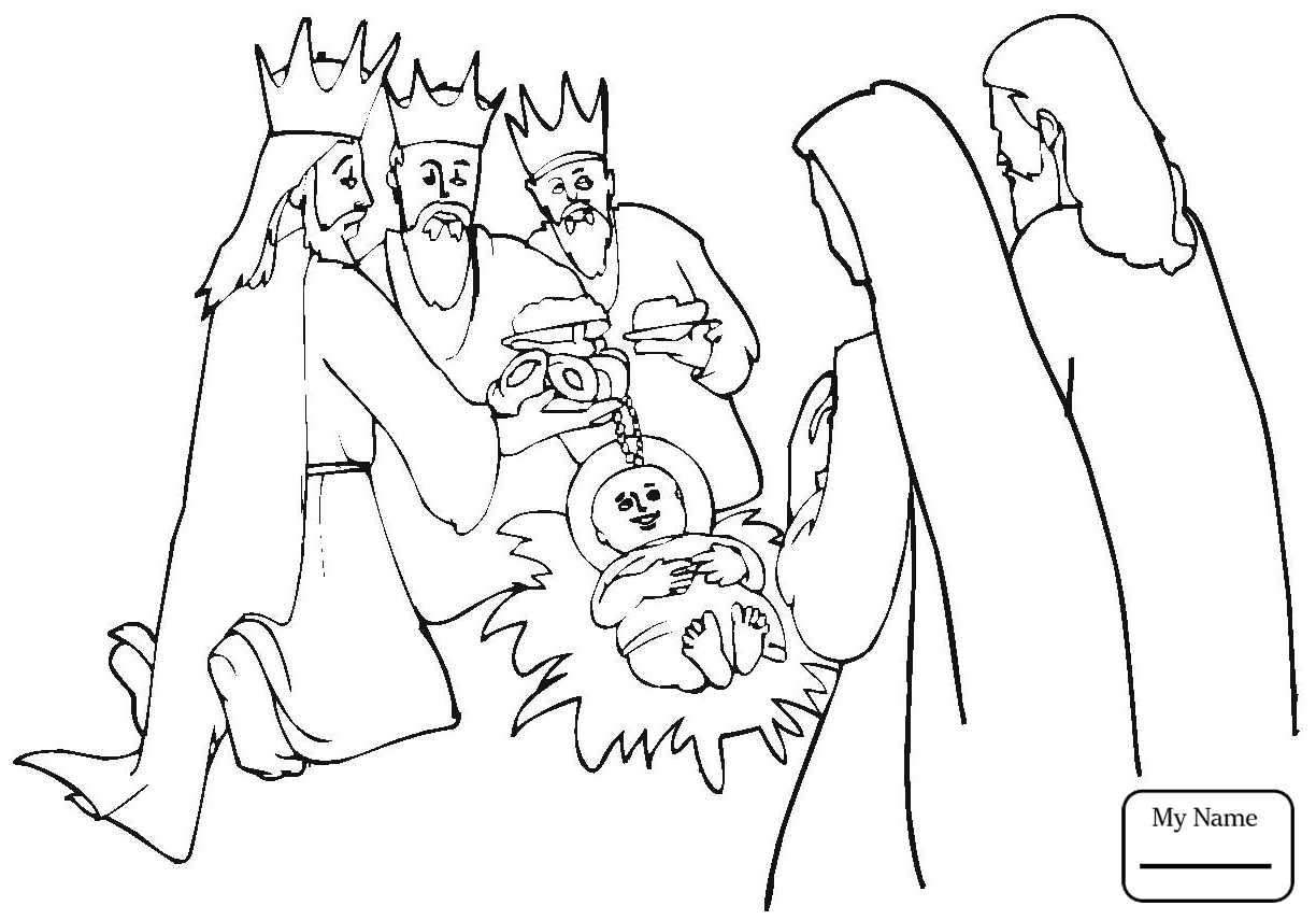 1224x855 Wise Men Coloring Pages