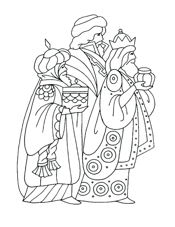 600x776 Wise Men Coloring Pages Click To See Printable Version Of Wise