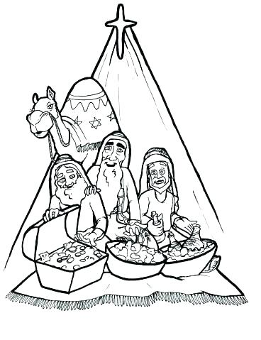 368x479 Wise Men Coloring Pages King Coloring Pages Three Kings Coloring