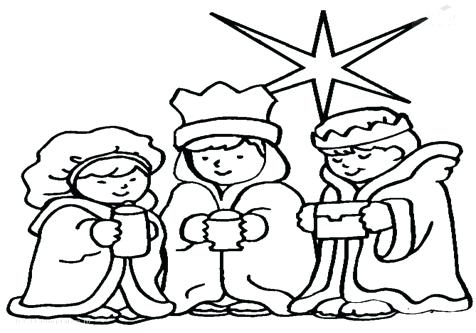 476x333 Wise Men Coloring Pages The Kings Coloring Page Ministry Deals