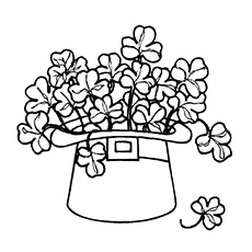 230x230 Top Free Printable Four Leaf Clover Coloring Pages Online