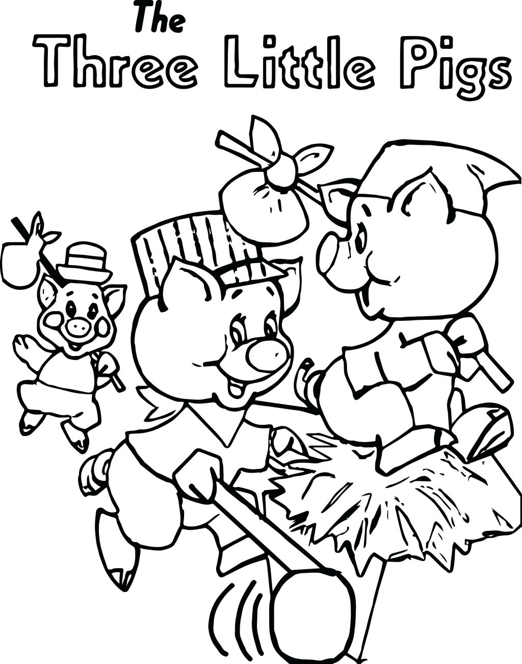 1024x1302 Coloring Pages Three Little Pigs Coloring Pages Look Page Pig