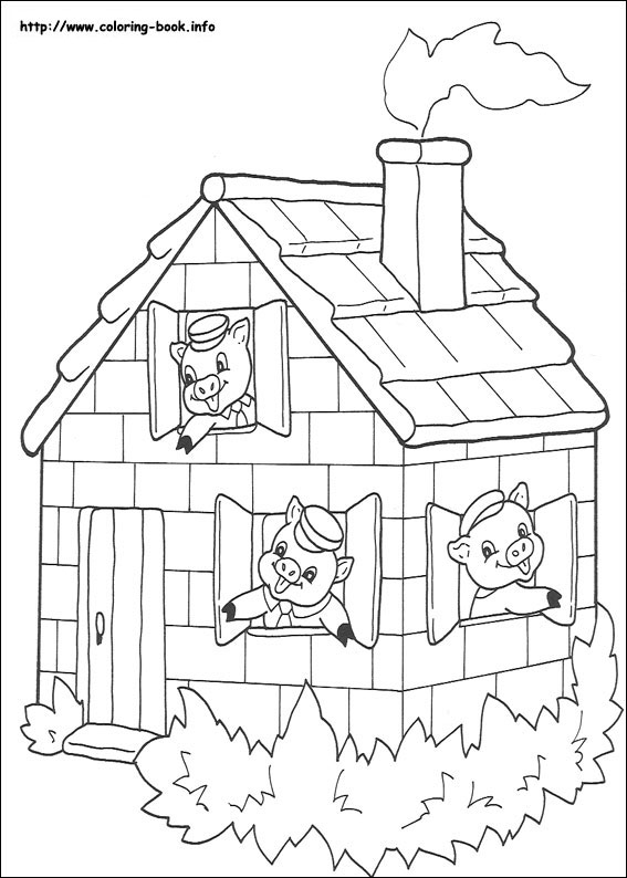 567x794 Coloring Page Php Lovely Little Pigs Coloring Page