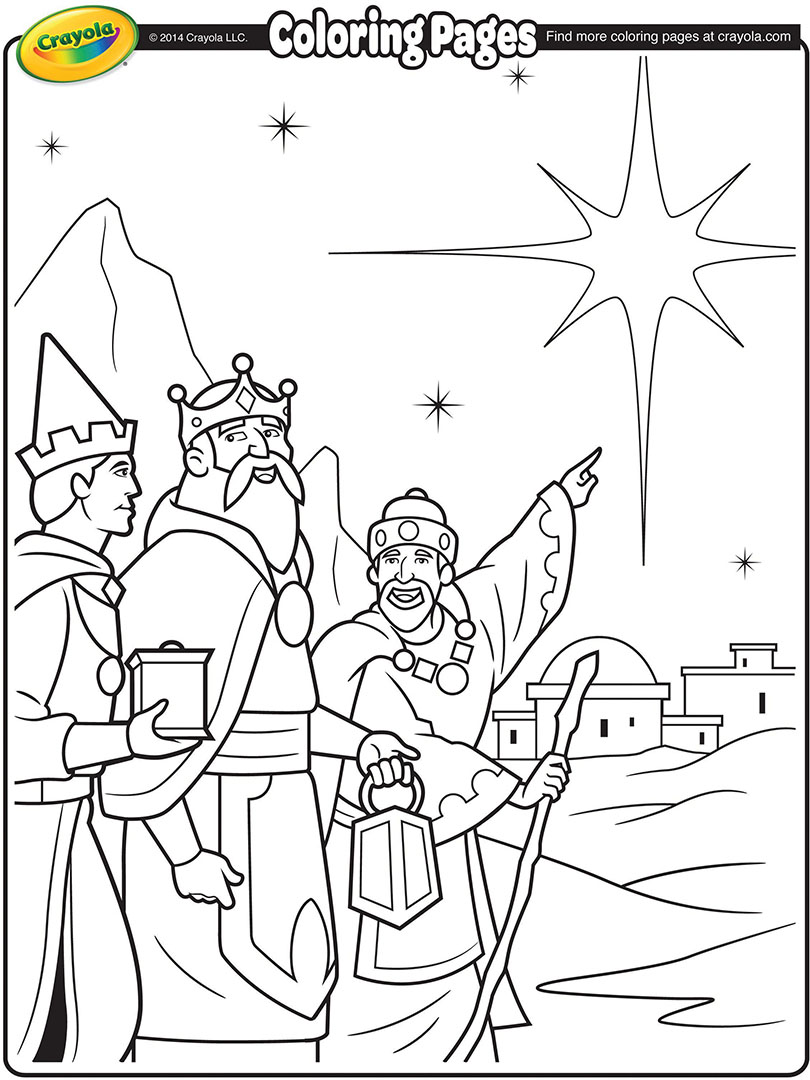 810x1080 Film Nativity Coloring Book Jesus Birth Pages Wise Man Foolish