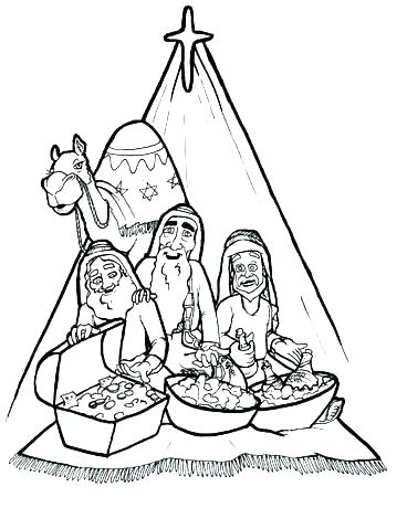 368x479 Three Kings Coloring Pages Three Kings Coloring Pages Did