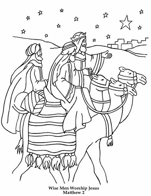619x800 Wise Men Coloring Page Christmas Magos Y Rey
