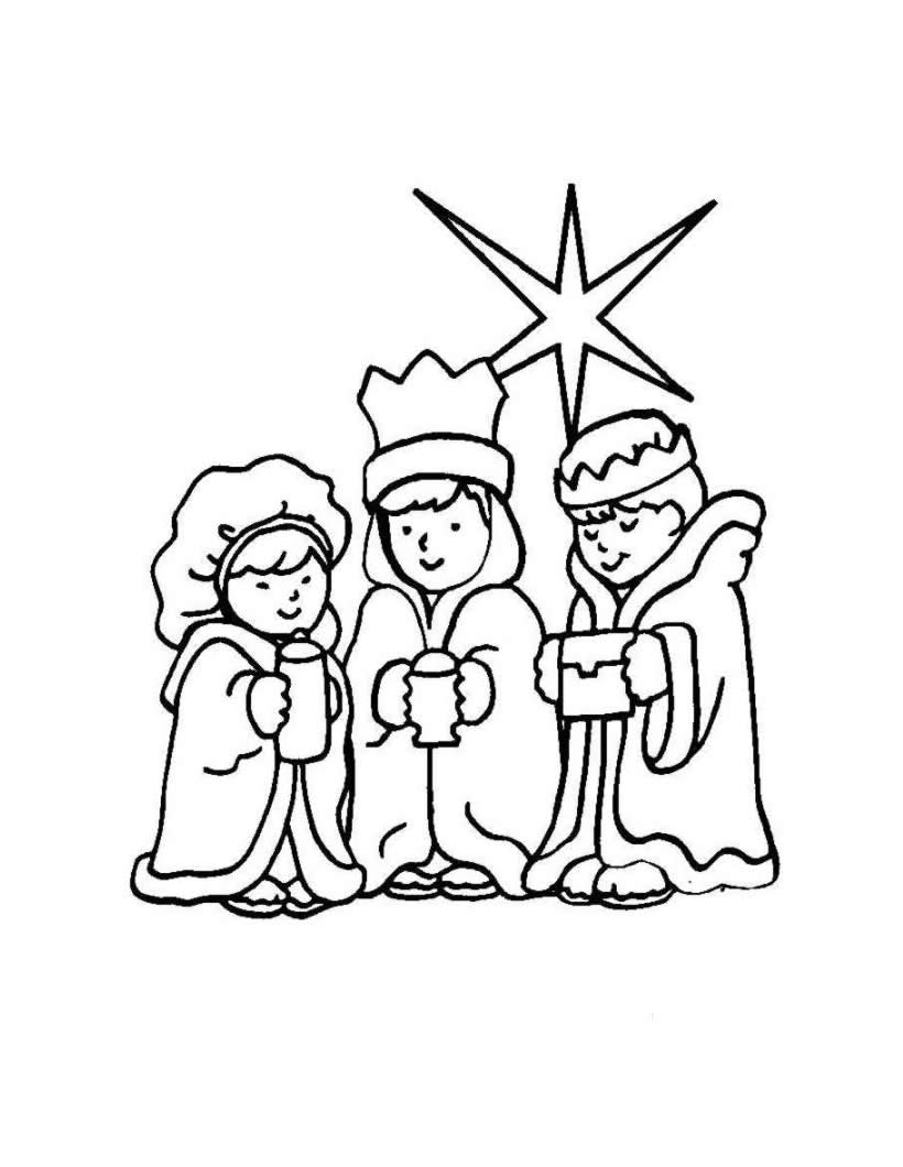 820x1060 Confidential Wise Men Coloring Page Three Kings Pages Hellokids