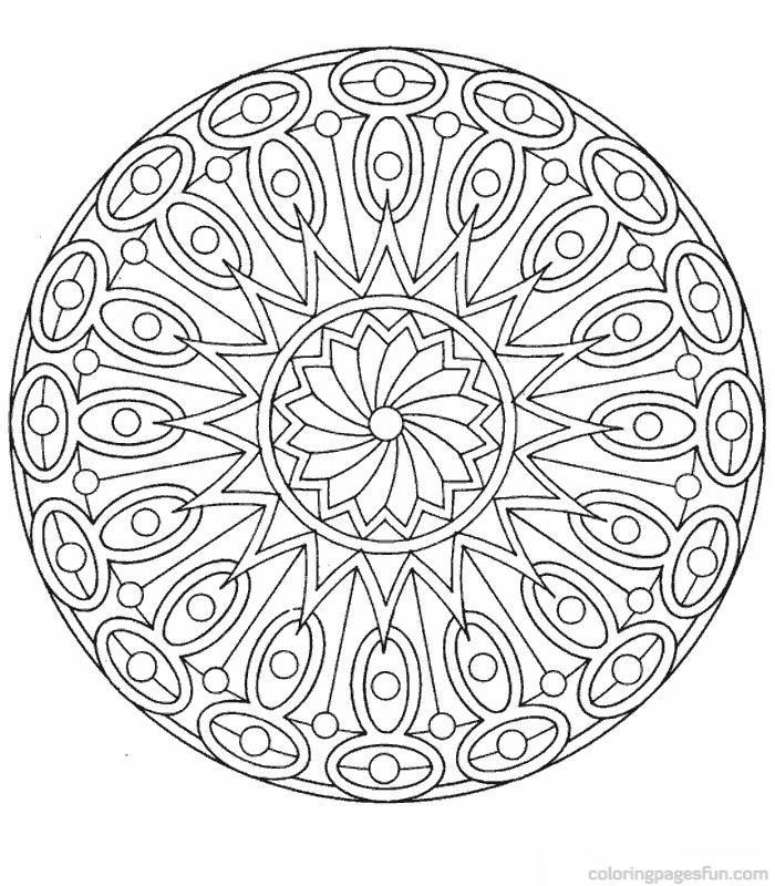 700x800 Best Mandala Coloring Pages Images On Coloring