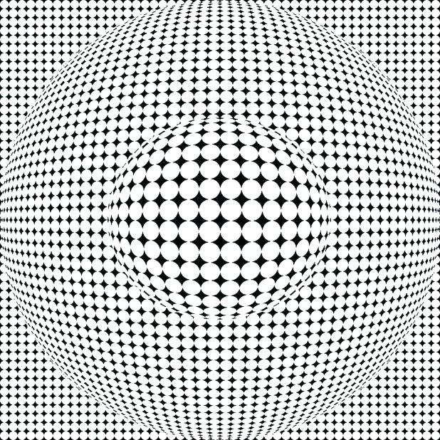 618x618 Optical Illusion Coloring Pages Excellent Optical Illusion