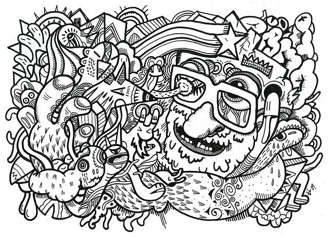 640x464 Best Trippypsychedelic Coloring Pages Images