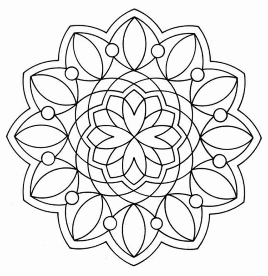 856x882 Geometric Coloring Pages Unique Free Coloring Pages