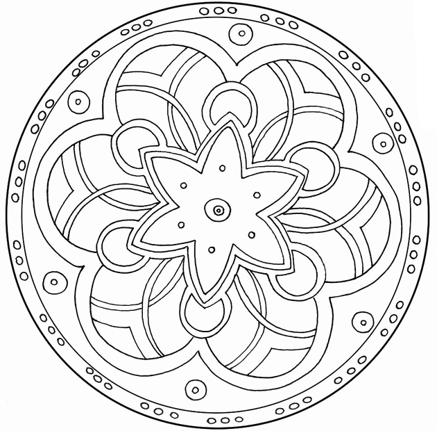 630x620 Geometry Coloring Pages Awesome Free Coloring Pages