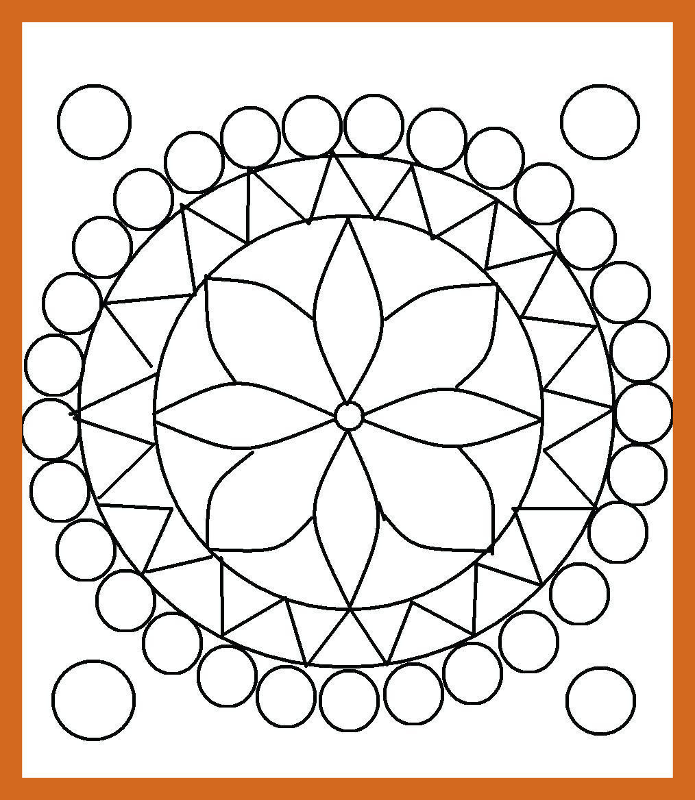 1014x1168 Stunning Coloring Pages Geometric Design Picture Of Ideas