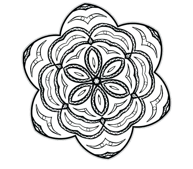 805x703 Coloring Pages Printable Coloring Pages Geometric Shapes