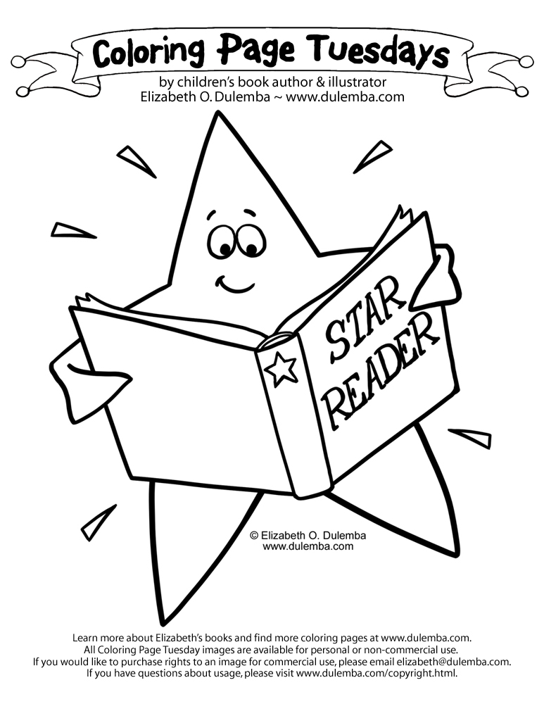 773x1000 Coloring Page Tuesday