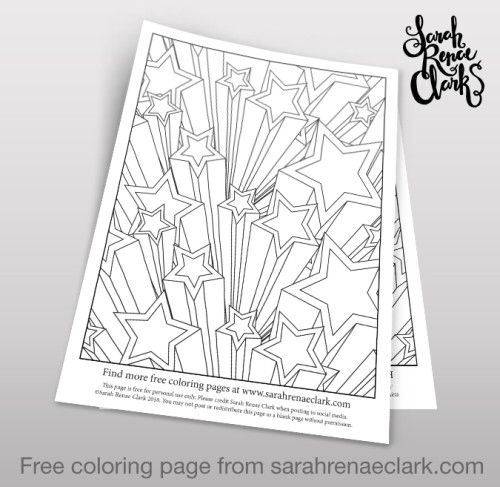 500x487 Best Free Coloring Pages Sarah Renae Clark Images