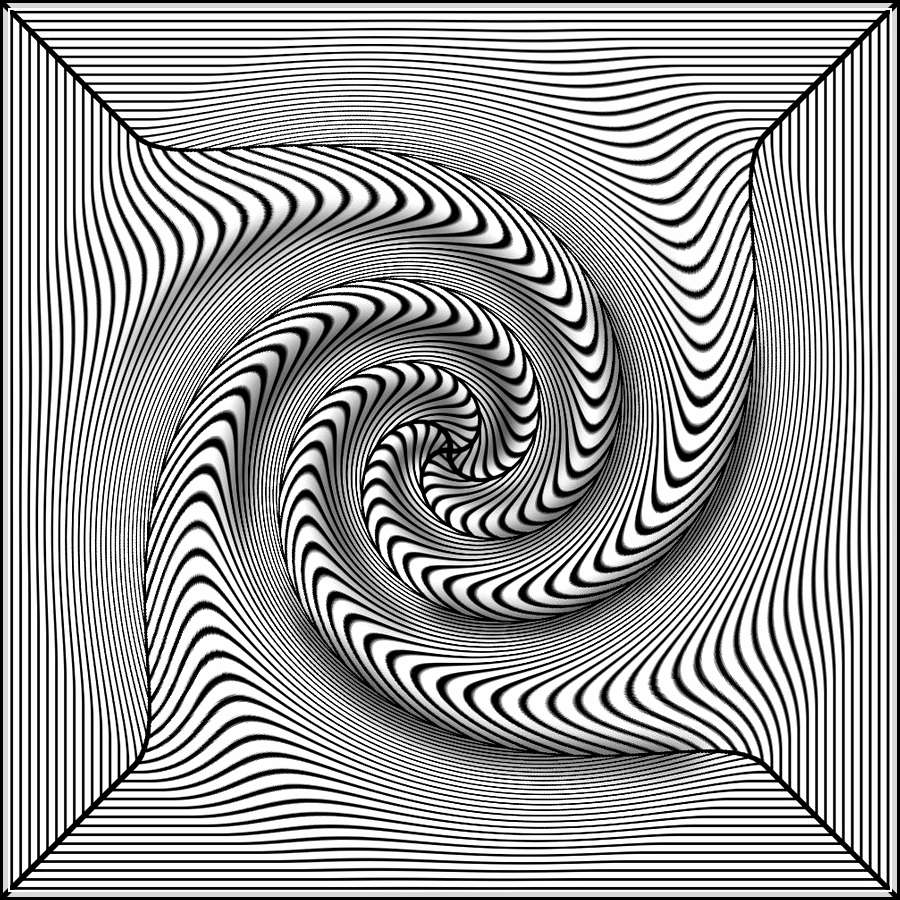 900x900 Inspirational Optical Illusion Coloring Pages