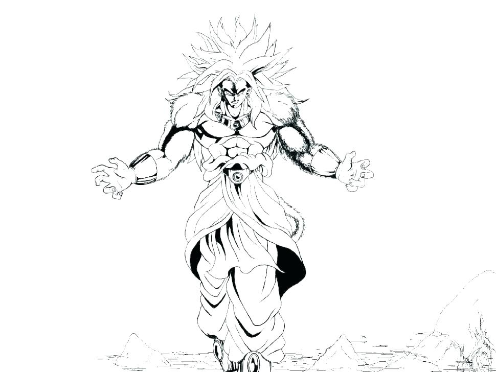 970x728 Goku Super Saiyan Coloring Pages Super Coloring Pages Super