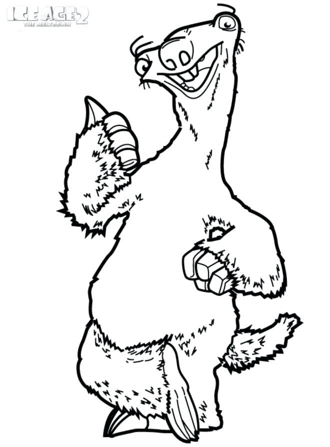 660x894 Ice Age Coloring Ice Age Coloring Pages Ice Age Coloring Games