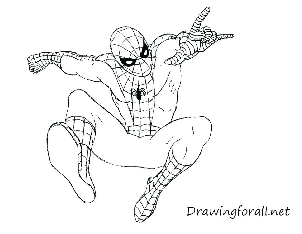 970x751 Spider Man Coloring Sheet Coloring Pages Printable Spider Man