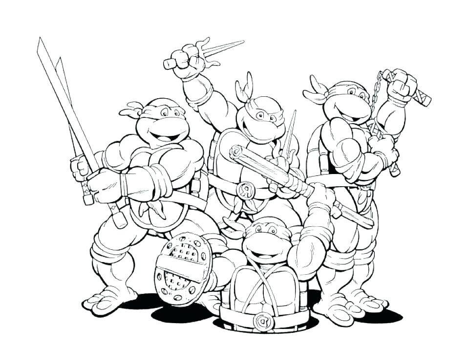 960x716 Number Coloring Pages
