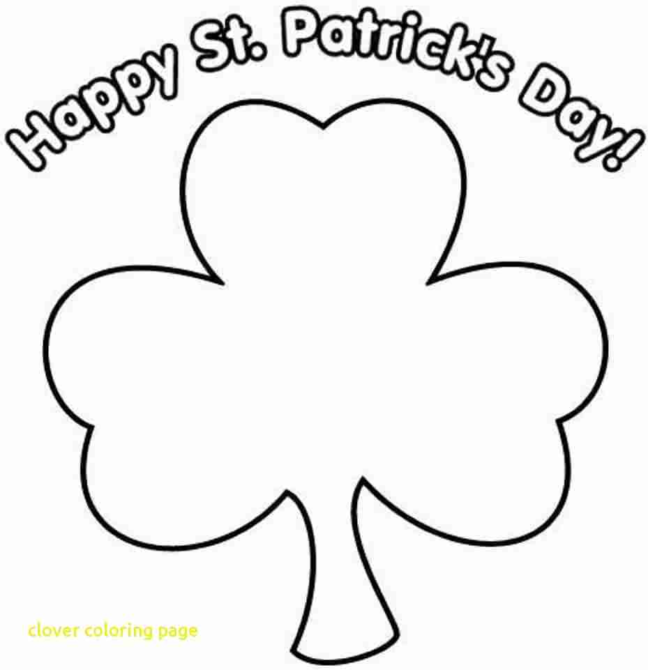 photograph relating to Four Leaf Clover Printable Template named 4 Leaf Clover Coloring Site at  Free of charge for
