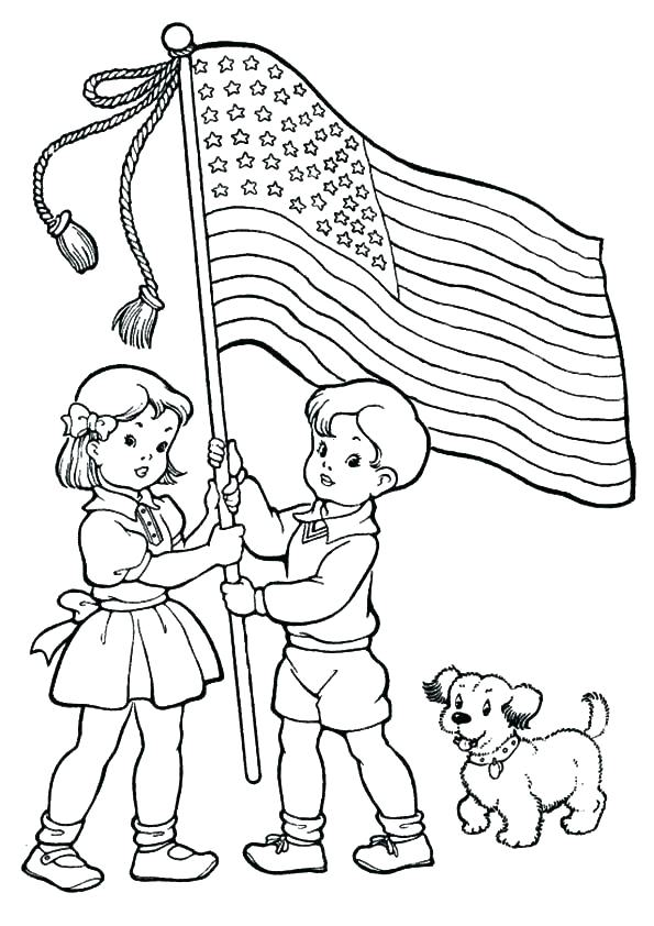 595x842 Coloring Pages Of July Printable Coloring Pages For The Fourth