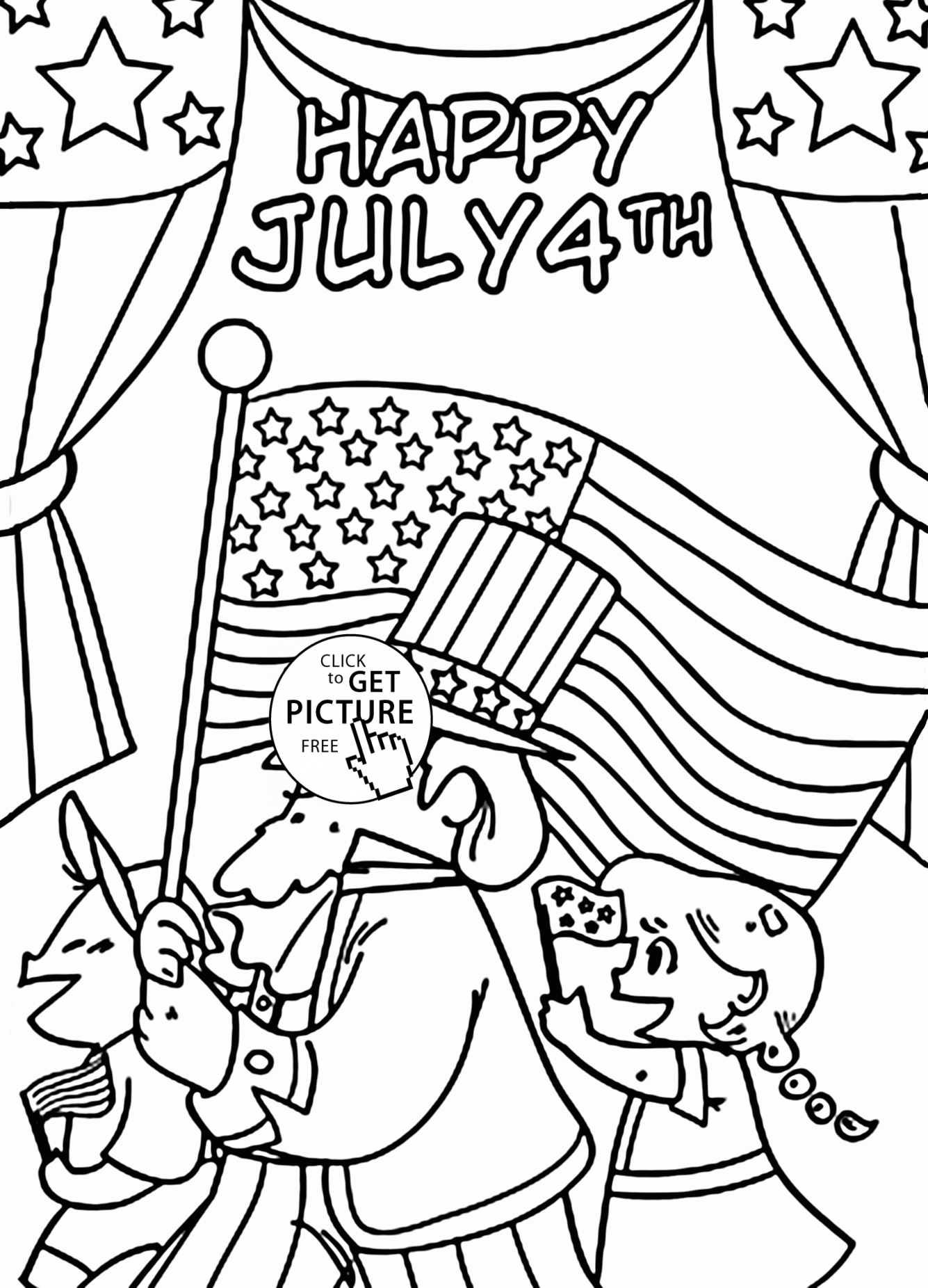 1335x1852 Fourth Of July Coloring Pages New Happy July Coloring Pages