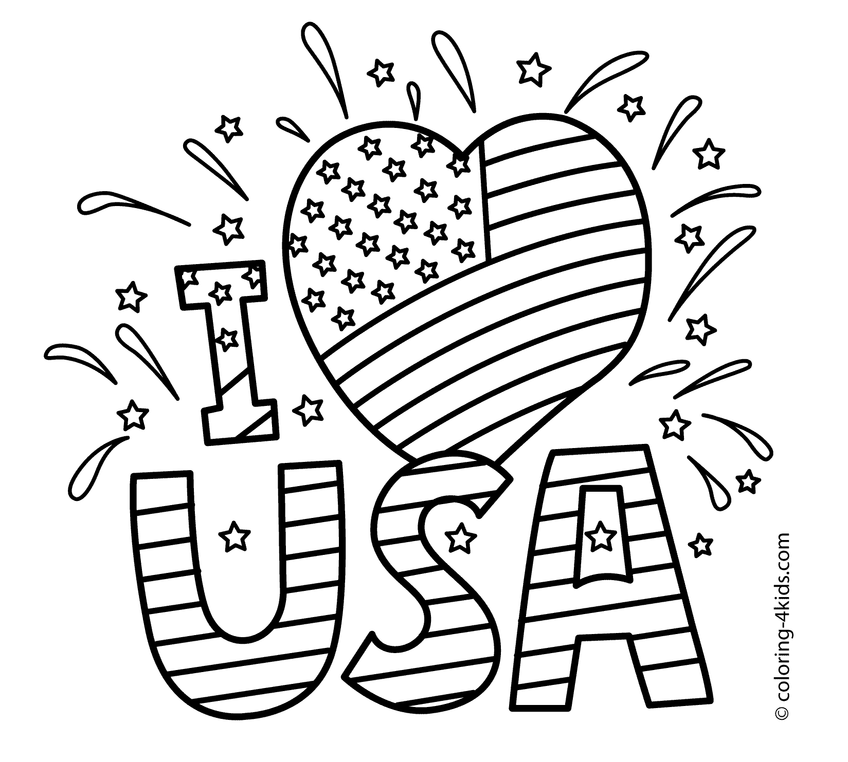 1649x1483 Fourth Of July Coloring Pages Images Free Coloring Pages
