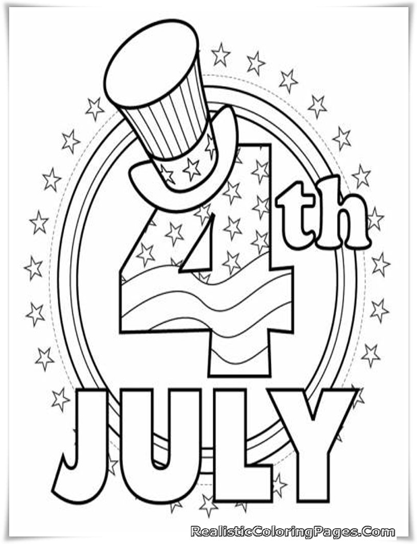 819x1069 Of July Coloring Pages