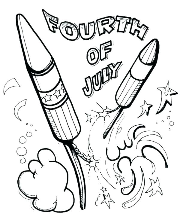 600x722 Of July Coloring Pages Fourth Of Coloring Pages Of Coloring