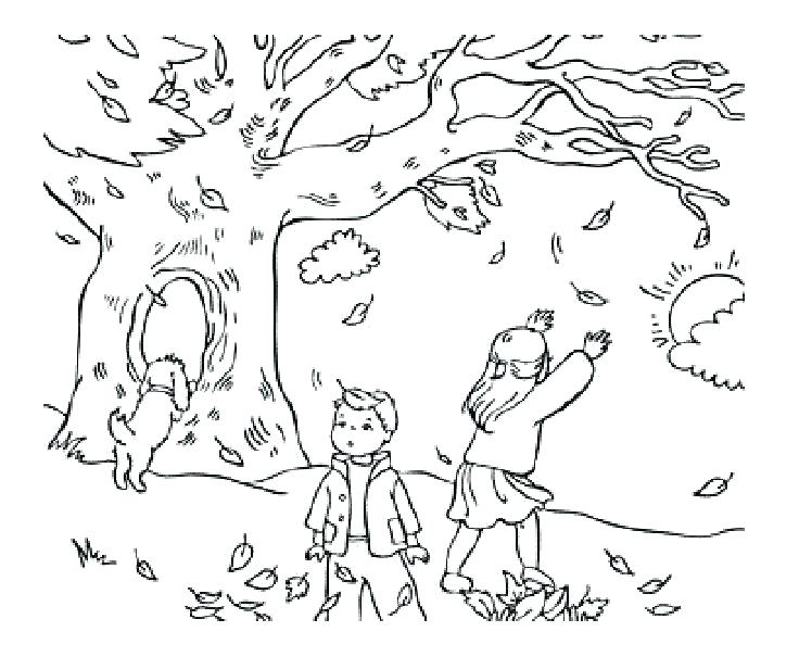 4 Seasons Coloring Pages At Getdrawings Com Free For Personal Use