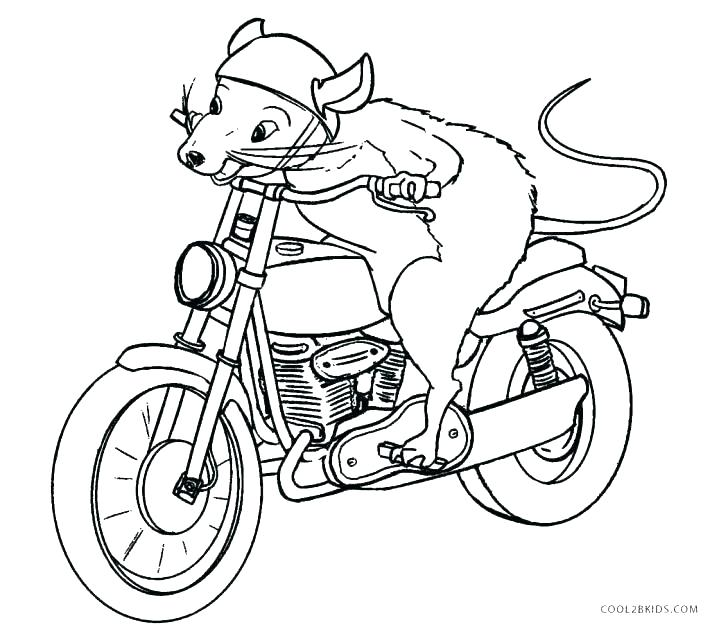 728x636 Coloring Pages Of Motorcycles Motorcycles Coloring Pages