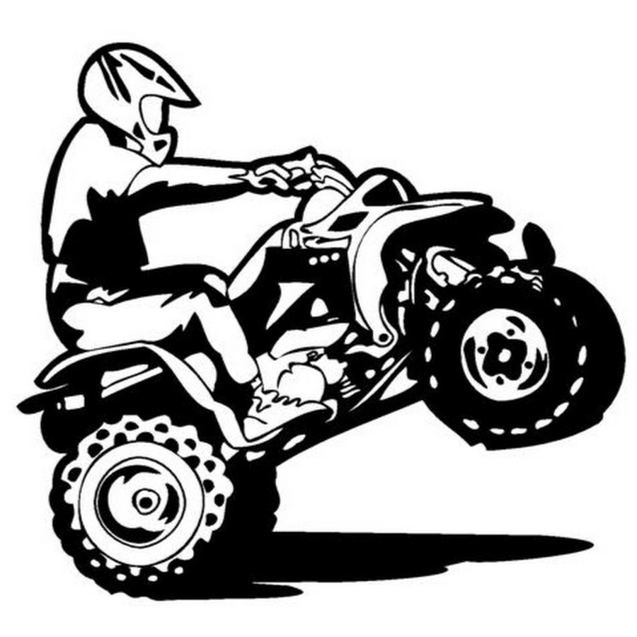 900x900 Delighted Four Wheeler Coloring Pages Pictures Inspiration Entry