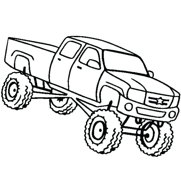 600x600 Four Wheeler Coloring Pages Free Wheeler Coloring Pages