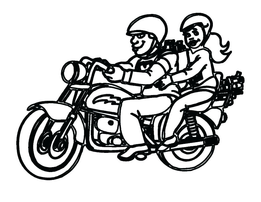 900x695 Four Wheeler Coloring Pages