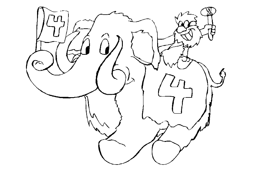 850x567 Happy Birthday Coloring Pages To Color In On Your Birthday