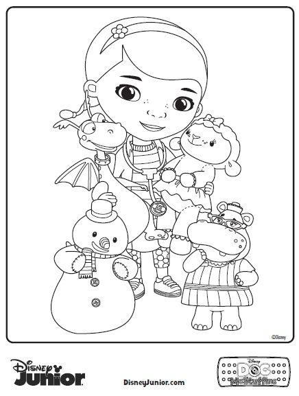 436x577 Doc Mcstuffins Coloring Pages
