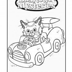 234x234 Coloring Pages Busytown Mysteries Birthday Party Ideas