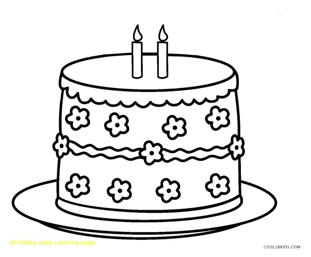 1043x863 Coloring Pages Thanksgiving Disney Birthday Cake Page With Drawing