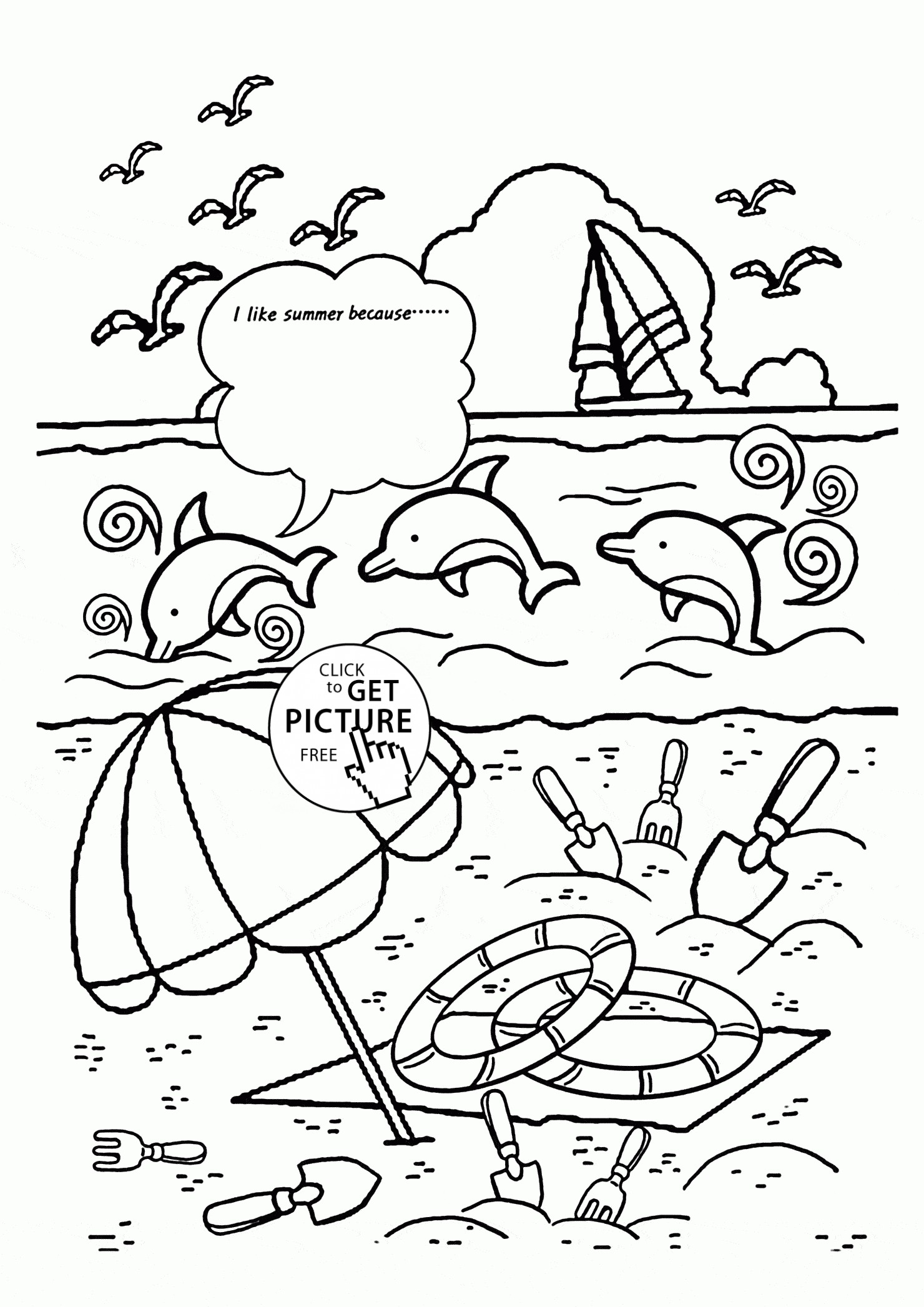 1480x2093 Summer Coloring Pages For Graders Copy Grade Coloring