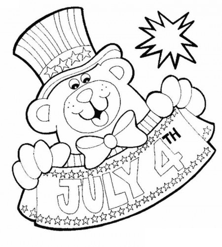 450x500 Of July Printable Coloring Pages Of Us Independence Day