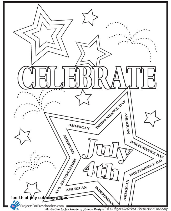 650x800 Fourth July Coloring Pages