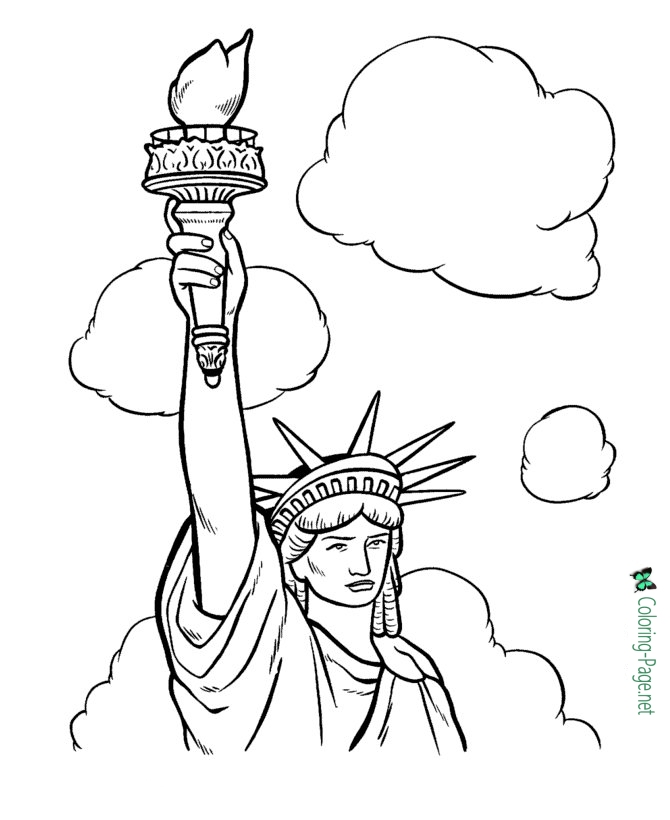 670x820 Of July Coloring Pages