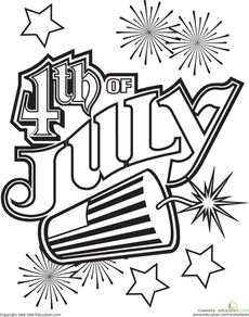 230x292 Get Patriotic With This Fourth July Coloring Page! Fourth